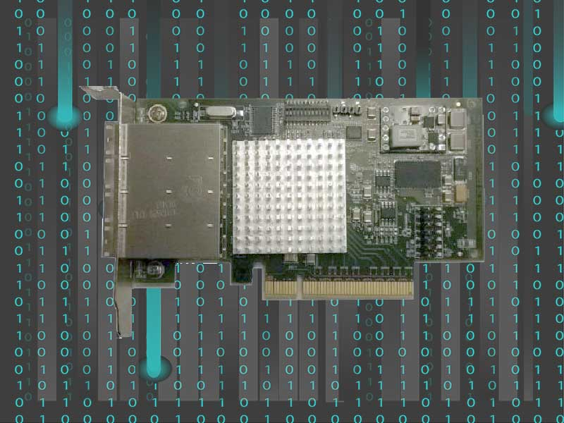 IXH631 MiniSAS HD PCIe Host Adapter